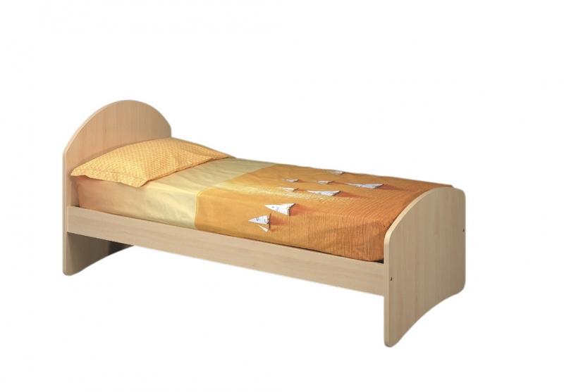 Cameretta con letto sopraelevato e struttura a ponte sotto - Letto singolo con letto sotto ...