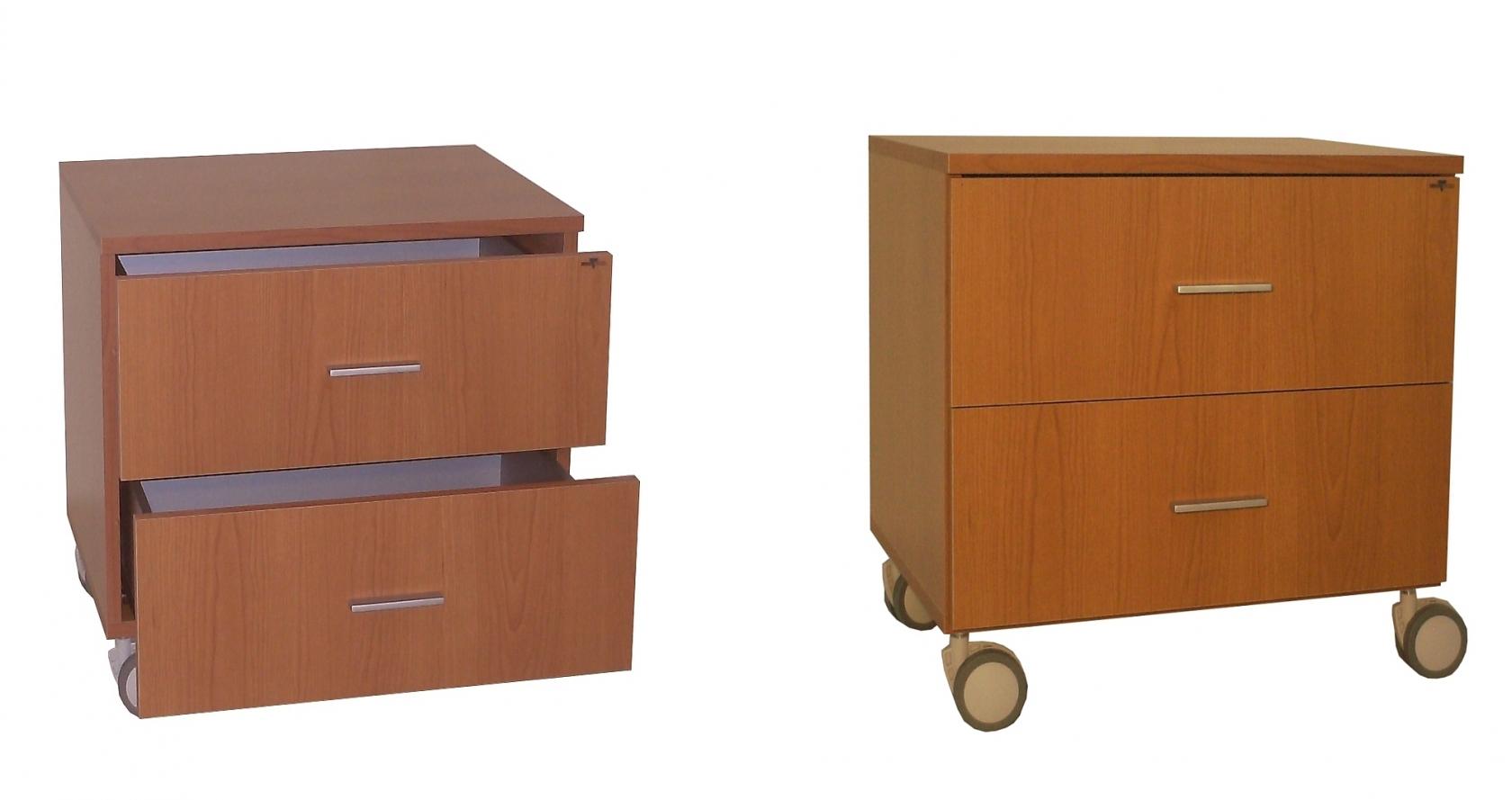 Cas60r cassettiera con 2 cassetti su ruote benigni mobili - Mobili con ruote ...