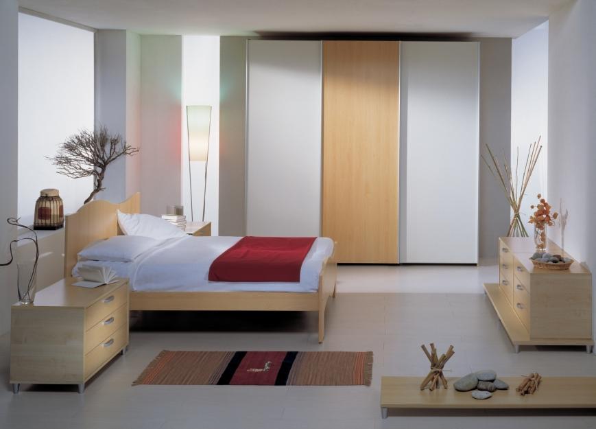 Camera matrimoniale ad ante scorrevoli benigni mobili for Mobili per camera matrimoniale
