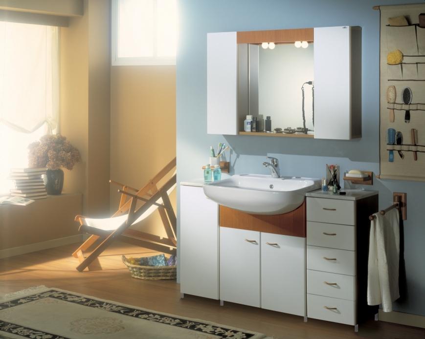 Mobile bagno per lavabo semincasso raccordi tubi innocenti - Sottolavabo per bagno ...